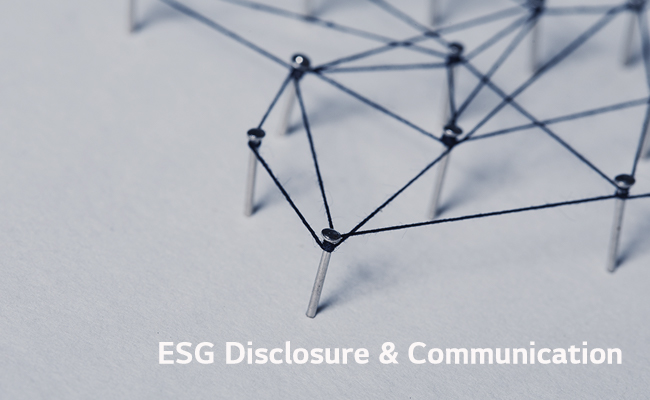 Communication and ESG initiative